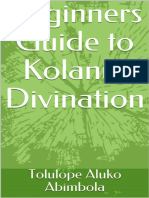 Beginners Guide to Kolanut Divi Tolulope Aluko Abimbola