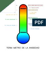 Termometro de La Ansiedad