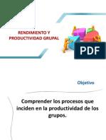 Rendimiento y Productividad