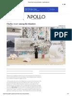 ALLSOP Laura, Charles Avery Among the Islanders - Apollo Magazine, Feb 2017
