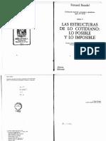 Braudel - Civilizacion material, economia y capitalismo I.pdf