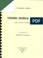 Federico Garcia Lorca - Canciones Espanolas Antiguas (voice+guitar) arr. Venancio Velasco.pdf