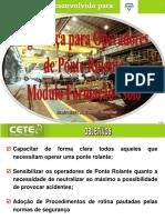 Ponte Rolante - Módulo Formação V2011