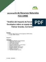 Análisis del impacto de forestación de Eucalyptus sobre un espejo de agua en Palmar Grande, Corrientes.docx