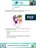 ENGLISH DOT WORKS 6 LEARNING ACTIVITY 1.1