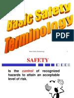 SafetyTerminology Handout