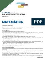 2018 ED Matematica