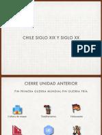 Chile en los S.XIX y XX.