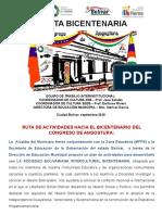 RUTAS BICENTENARIAS 2018-2019  ALCALDIA.pptx