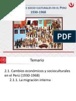 CAMBIOS SOCIO CULTURALES/ DESCONOLIZACION/TERCER MUNDO - Cambios Socioculturales