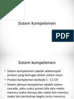 Sistem Kompelemen