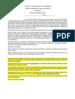 Diagnóstico Lengua y literatura 2019 - 6°