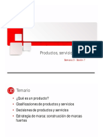 Productos, Servicios y Marcas