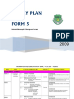 ICT Form 5 Yearly Plan