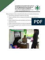 7.1.3.3 Bukti Penyampaian Informasi Tentang Hak Dan Kewajiban Pasien