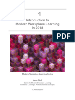 Introduction to in 2018 Modern Workplace Learning