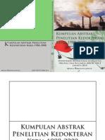 Buku Kumpulan Abstrak Penelitian Kedokteran Kerja FKUI1988-2008