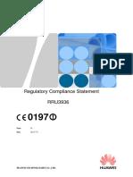 UserManual Regulatory Compliance Statement and Information PDF 2170409