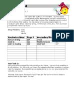 word wizard role sheet