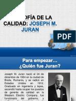1.3 Filosofía de Joseph Juran.