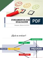 Fundamentos de evaluación