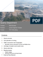 Quarry Department
