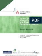 Weee Report Unu