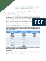 Conceptos basicos para la elaboracion de un informe de quimica general