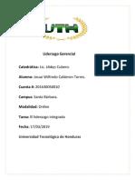 Tarea Liderazgo Gerencial, El liderazgo integrado.docx