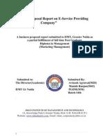 e-service Business Proposal 2003