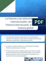 Presentación la historia y las RI
