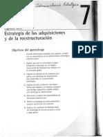 Estrategia de Adquisiciones y Restructuracion