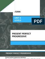 Present perfect simple/present perfect progressive/modal verbs