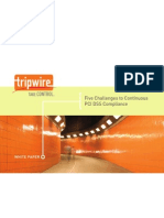 Tripwire Five Challenges to PCI Compliance