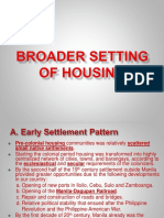 Housing Subject Presentation