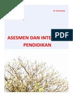 Asesment Dan Intervensi Pendidikan