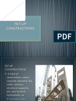 Tilt Up Constructions