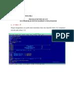 SEPTIA PRATIWI (16029051) TUGAS PROGRAM METODE SECANT DAN MODIFIKASI METODE NEWTON RAPHSON.docx