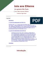 Epístola Aos Efésios Do Apóstolo São Paulo - Bispo Alexsander