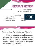 Pendekatan Sistem