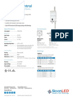 DataSheet DimmingControl RefrigeratedDisplay US Canada