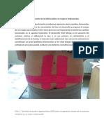 Kinesiotaping en La Disfunción de La Sínfisis Púbica en Mujeres Embarazadas