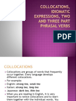 Collocations, Idiomatic Expressions, Two and Three.pptx