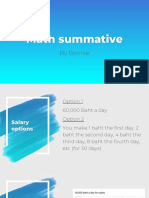bonnie apis - summative criterion c and d