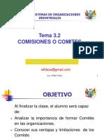 Tema 3.2 Comisiones