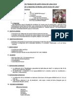 PLAN DE TRABAJO  DE  SANTA ROSA DE LIMA 2019.docx
