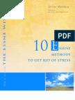 10 Essene Methods to Get Rid of Stress