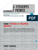 Medical Students Summit Primer - Delegates