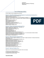 Curriculum Bachelor of Science in Pharmacy 2014 (evi).pdf