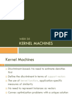 Lecture 5 - Kernel SAVAS1